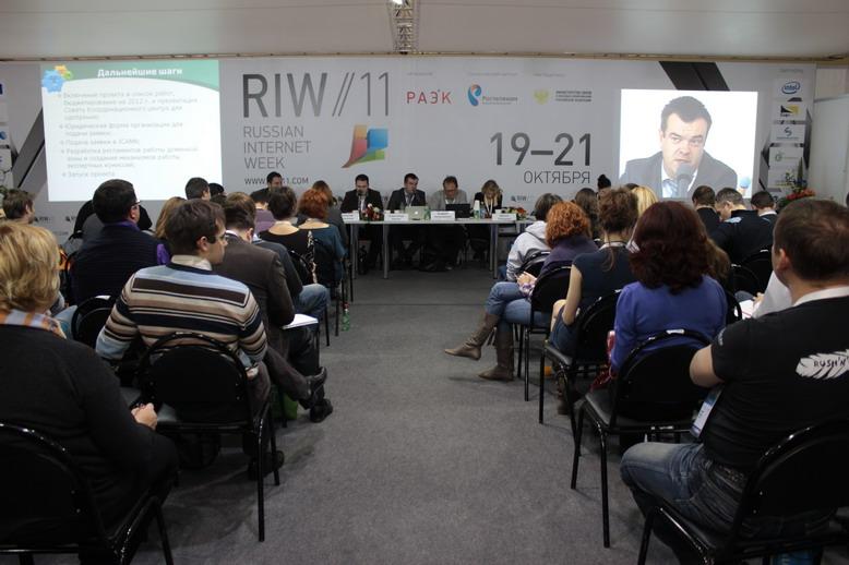 Доменная секция на RIW-2011